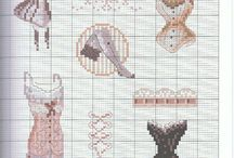 Keresztszemes (cross stitch)