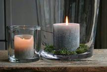 Nápady - svíčky, svícny, osvětlení