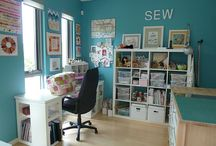 Sewing Studio/Craft Room / by The Kim Six Fix