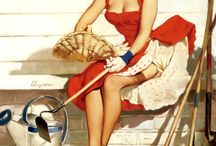 Pinup gals / by Junk Rock Girl