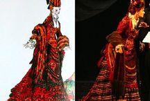 Carlotta - Don Juan Rehearsal gown ( Phantom of the Opera )