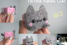 Needle felted shit
