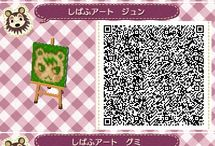 Animal crossing qr code