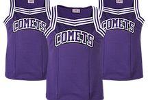 Custom Cheerleading Apparel & Accessories / Design custom cheerleading uniforms, spiritwear, accessories & more! http://www.teamsportswear.com/cheerleadinguniforms