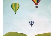 Oil Painting - Hot Air Balloon