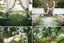 GARDEN-INSPIRED WEDDING IDEAS / Inspirational Garden Weddings