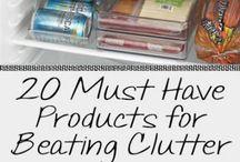 Clutter organization