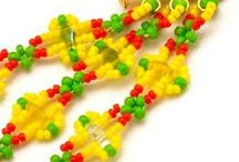SuperDuo Patterns / Beadwork Patterns utilizing SuperDuo Beads.  Free with purchase from Bead Passion Studio