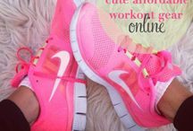 Athletique Inspiration Board / Fashion inspiration for the gym  working out! / by Monique Brown