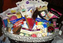 Baking gift baskets