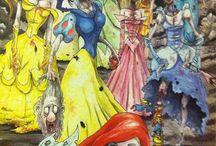 Uhyggelige prinsesser