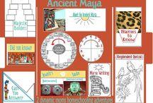 Maya, Incasi, Azteci