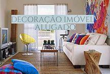 Saiba como Decorar Casa ou apartamento alugado! / Veja + Inspirações e Dicas de decoração no blog!  www.construindominhacasaclean.com