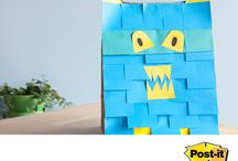 post-it super sticky ideas creativas / ideas creativas con post-it http://papeleria-segarra.blogspot.com.es/2015/09/post-it-super-sticky-3m-notas-adhesivas.html www.papeleriasegarra.com