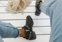 | SHOES | / Shoe outfit styles trainers and heels for womens fashion