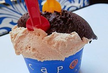 Italiano gelato delight. / Italian frozen delicacacies