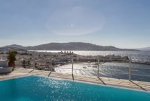 Margò - Mykonos / Perched above the old harbor of Mykonos Town and with inspiring views over the rooftops, stretching across the Aegean all the way into the colorful sunsets, Margò is a classic example of the Mykonian lifestyle and traditional architecture. For more details visit : http://www.mykonosvillas.com/our-villas/margo