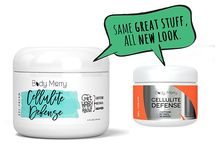 Body Merry Cellulite Cream / If you are so desperate and asking yourself how to get rid of cellulite the Body Merry Cellulite Cream dissolves fats and smooth your skin