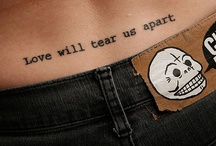 Tattoos and Piercings  / by Nichole Hile