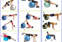 Exercices with gymball