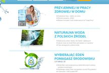 Mineral water webdesign