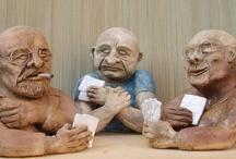 Michaela Stejskalova / My home made ceramic sculptures.