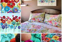 Sabana cortinas.cubrecamas y cuadros en compose