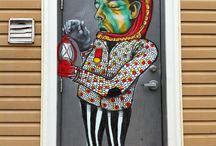 Other aka Troy Lovegate / The work of Canadian street artists Other aka Troy Lovegate.