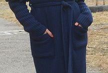 дизайнерская вязаная одежда