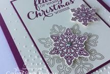 Stampin Up-Flurry of Wishes