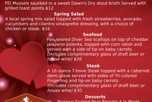 Valentine's Day Specials / C.H. Evans Brewing Co. at the Albany Pump Station is providing Valentine's Day specials for our customers on February 13th & 14th, 2015.
