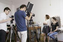 Belle de jour - Backstage de nos tutos make-up bio et naturels / Découvrez en avant-première les coulisses du tournage des 3 prochains tutoriels make-up MonCornerB !