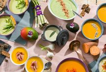 Warming soups