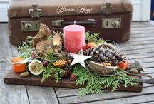 Karácsonyi asztali