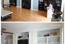 Before and After decors