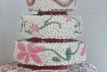 Mosaic Wedding Cakes