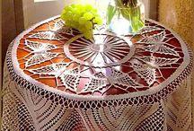 Tablecloth crush