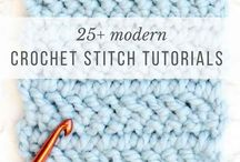 25 crochet stitches
