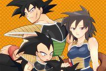 familia de goku