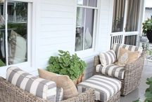 Front porch Sittin' / by Michelle @ latenightquilter.com