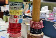 Organizing Crafty Stuff / by Pamela Palmer