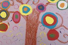 Wassily Kandinsky / Γνωρίζοντας τον Wassily Kandinsky Εικαστικές δημιουργίες των μαθητών του 7ου ΔΣ Νίκαιας www.7dimotikonikaias.blogspot.gr