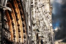 Awesome Architecture: Castles and Cathedrals / by Laura K.