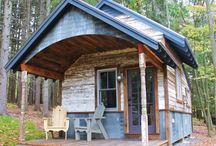 Tiny Houses, Cabins, Cottages, Guest Houses, and Studio and Retreat Space Ideas. / by Laura Biering
