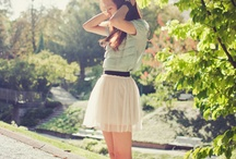 Skirt photography