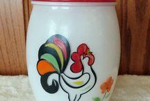 Bartlett Collins glass ware