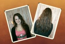 My Hair, flow it, SHOW IT! / Pictures clients have shared with me and my own creations. I note the ones I did.