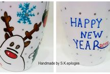 Handmade personalized mugs