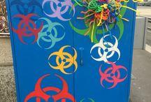 Centraline di Milano / Come le centraline elettriche di Milano sono diventate street art