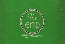 the end / by Anda Corrie